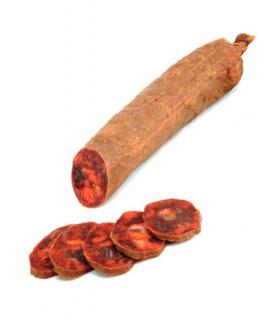 Iberian chorizo sausage Jabugo Spanish product