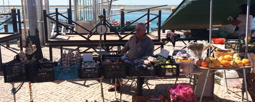 El mercado de Olhão - Algarve, Portugal