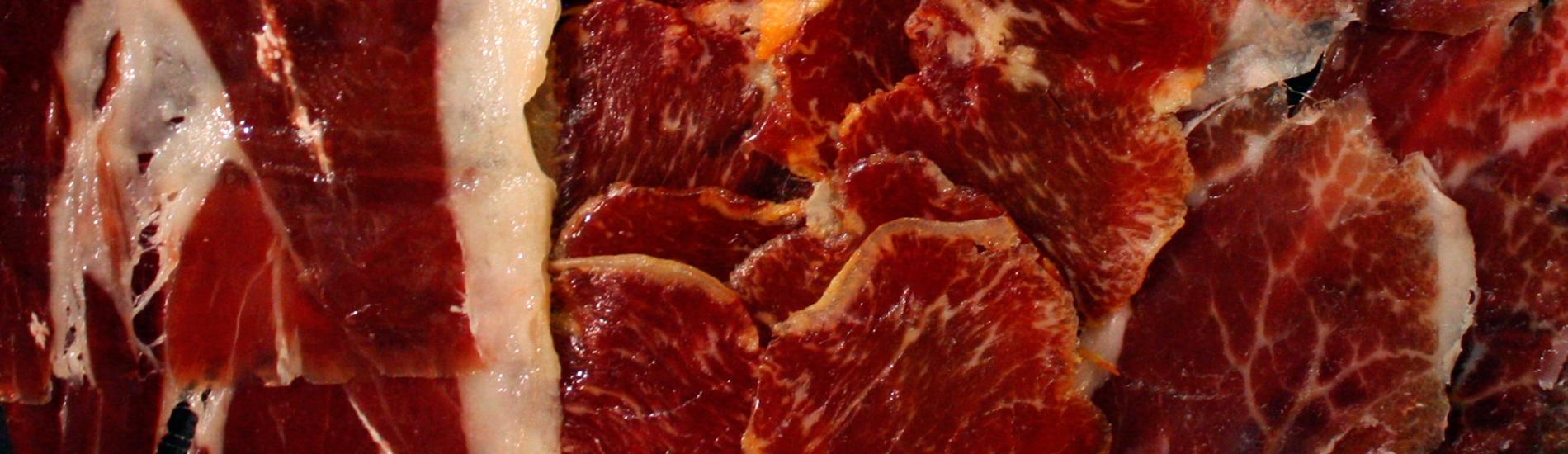 Platters of  cold cuts - bellota
