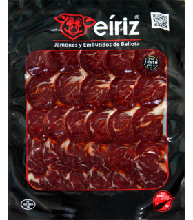 Sliced acorn-fed iberian lomito cured meat presa - Eíriz