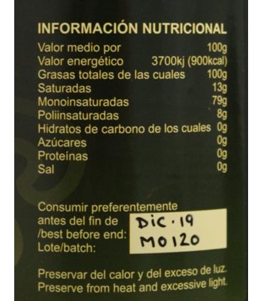 Etiquette Huile d'olive Vierge Extra Premium - Haza la Centenosa
