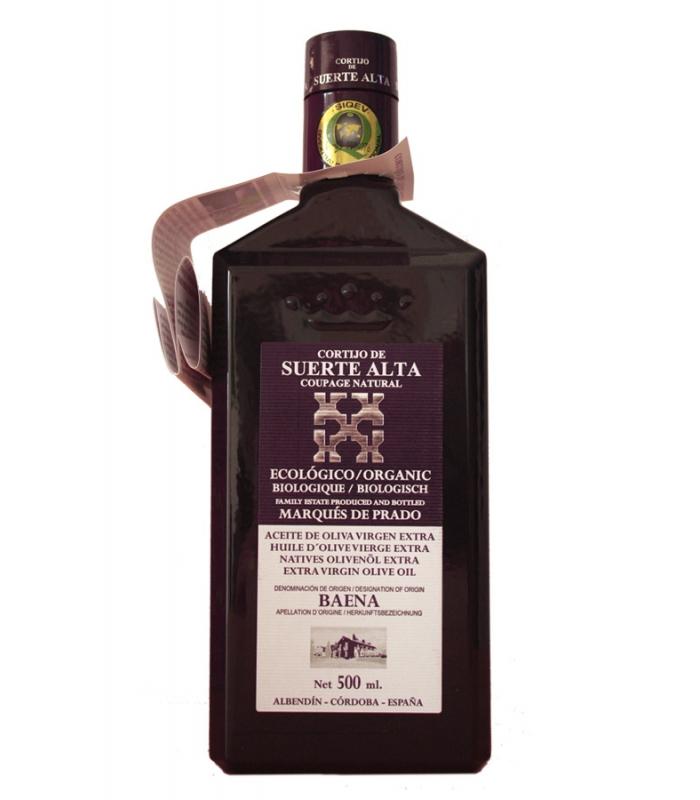 Organic Extra Virgin Blended Olive Oil - Cortijo de Suerte Alta