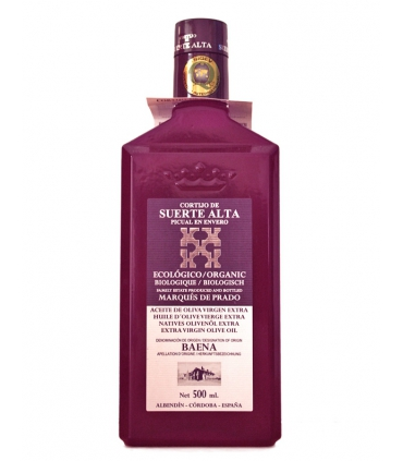 Picual Organic Extra Virgin Olive Oil - Cortijo de Suerte Alta