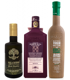 Olive oil selection picual variety
