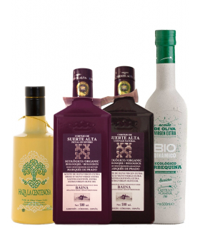 Organic Extra Virgin Olive Oil selection