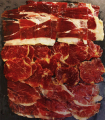 Sample pack with Iberian ham and cured pork loin