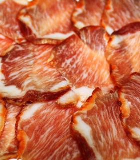 Acorn-fed iberian loin Bellota cured meat - Hijos de Onofre Sánchez Martín