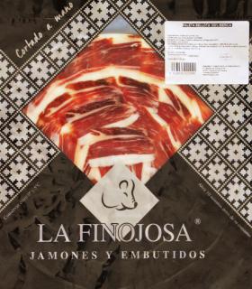 Spanish Cured ham in slices - La Finojosa
