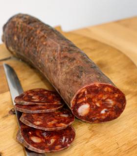Acorn-fed iberian chorizo bellota