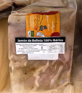 Label 100% Iberian acorn ham piece - Finca Montefrío