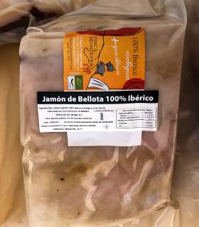 Trozo de Jamón de bellota 100% ibérico y ecológico - Finca Montefrío