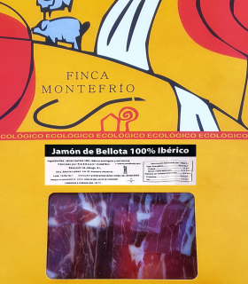Jamón de bellota 100 % ibérico loncheado - Ecológico - Finca Montefrío