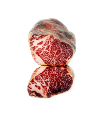 Acorn-fed iberian lomito cured meat presa Bellota Jabugo (Huelva) - Eíriz