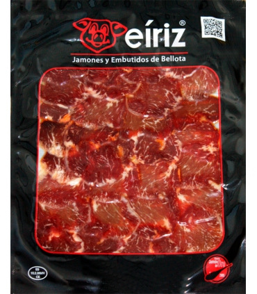 Sliced Iberian acorn loin sausage - Eíriz