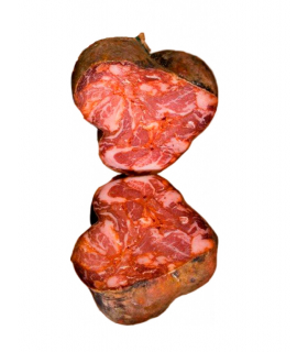 Sliced iberico morcón bellota to taste