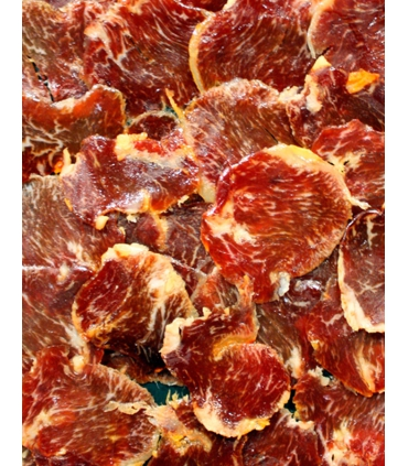 Acorn-fed iberian loin cured meat Jabugo Huelva Spain