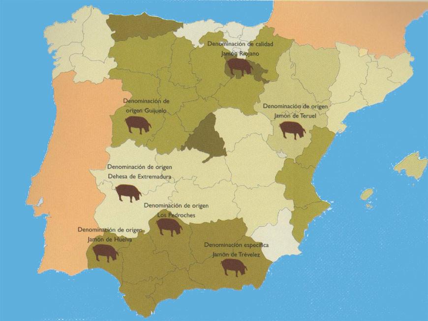 Dénomination d'origine du jambon espagnol