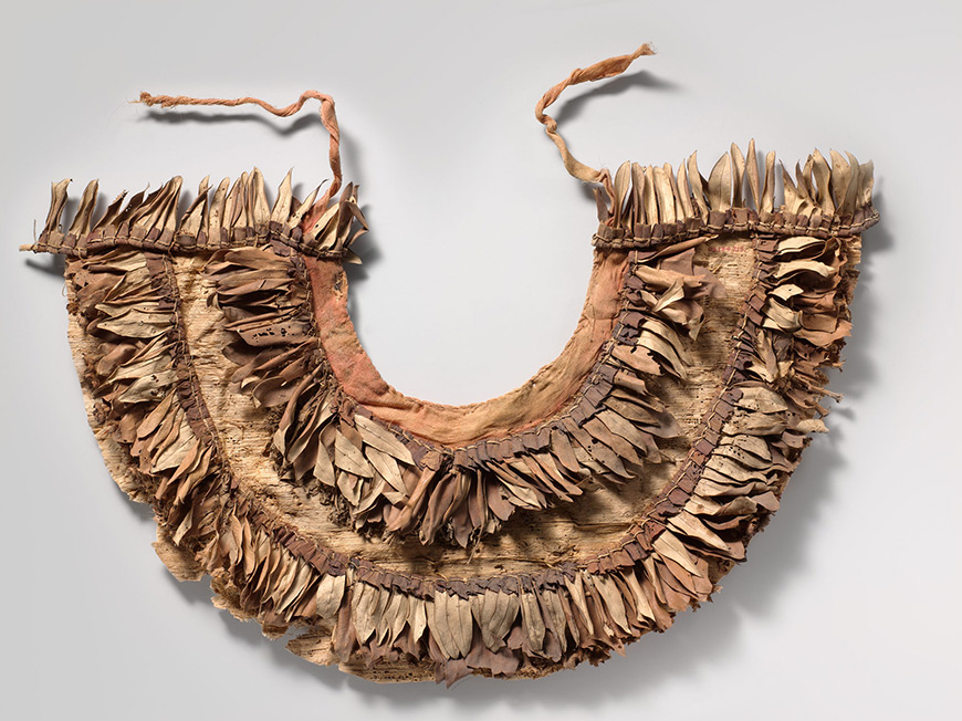 Some of the flora used in the Tutankhamun collars have been identified as olive leaves