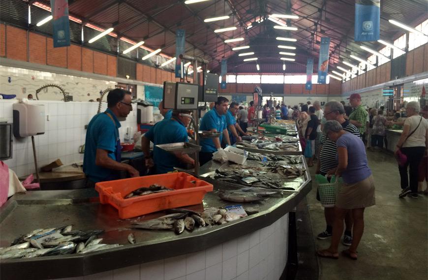 Plaza de pescado