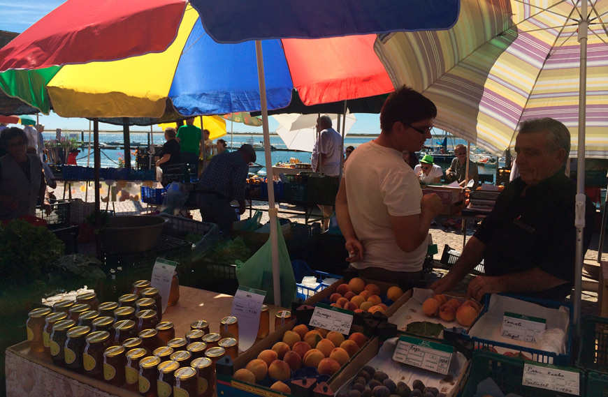 Algarve Market stalls