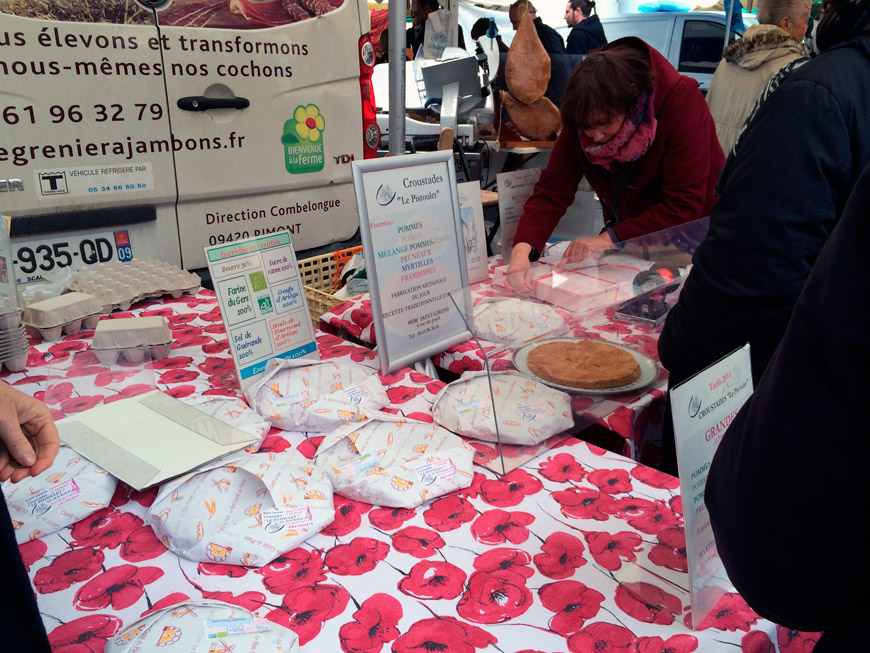 Pastel típico Pirineos franceses, Ariège