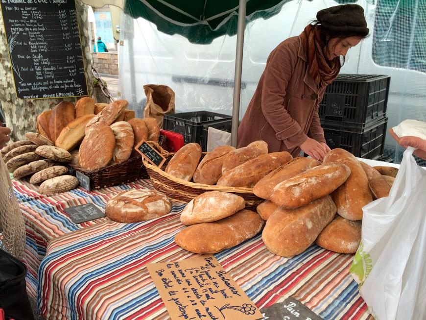 Pan artesanal de montaña