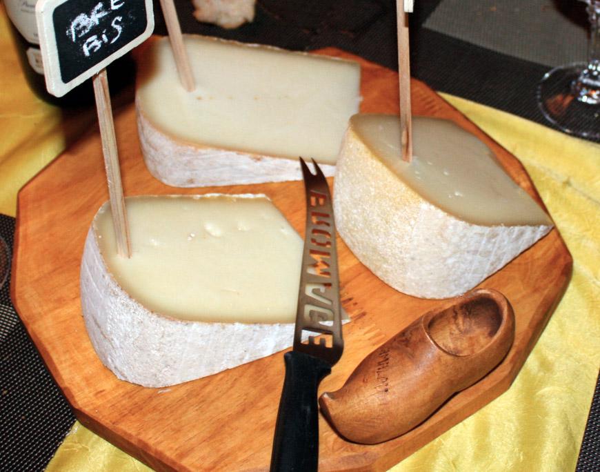 Tabla de queso de los Pirineos