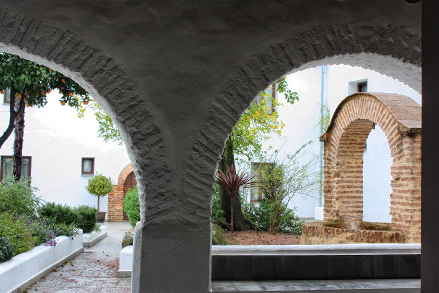 Hotel Convento Aracena - patio