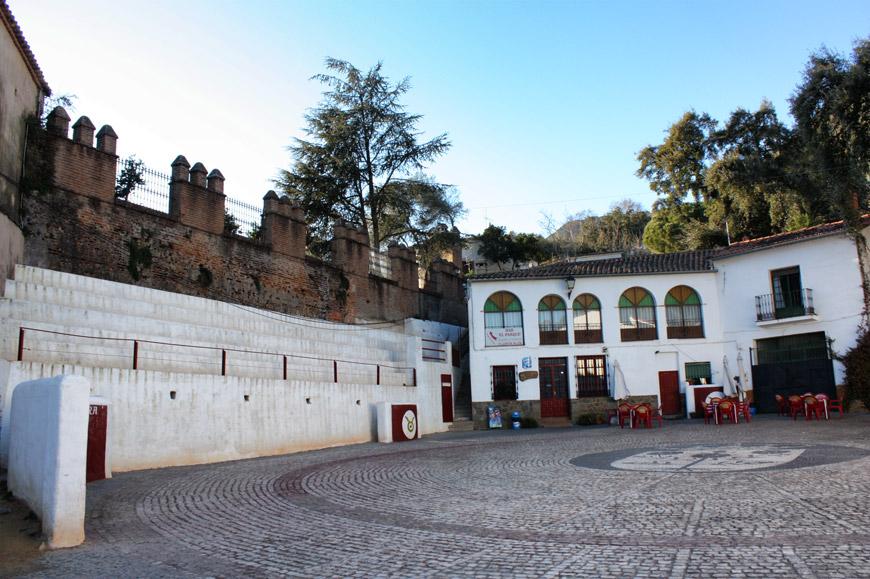 Linares de la Sierra - arêne