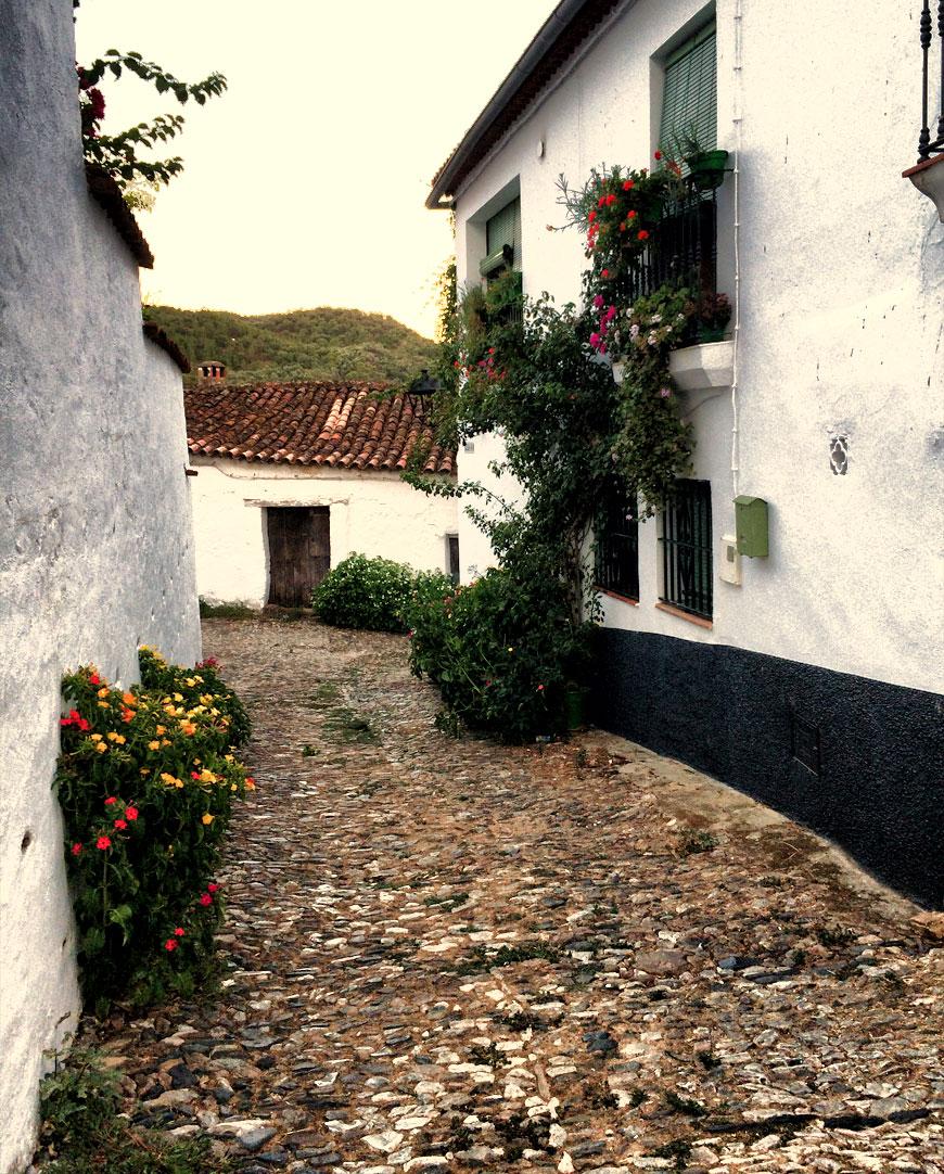 Linares de la Sierra - calle